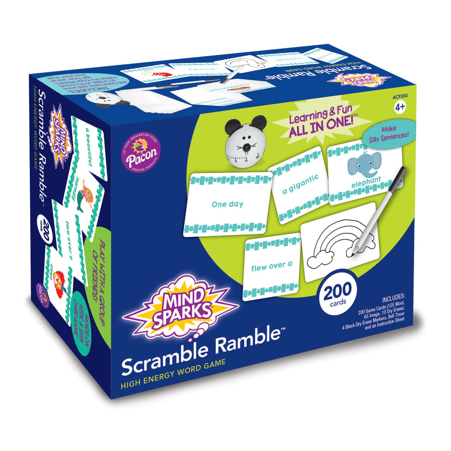 Mind Sparks® Scramble Ramble® Word Game