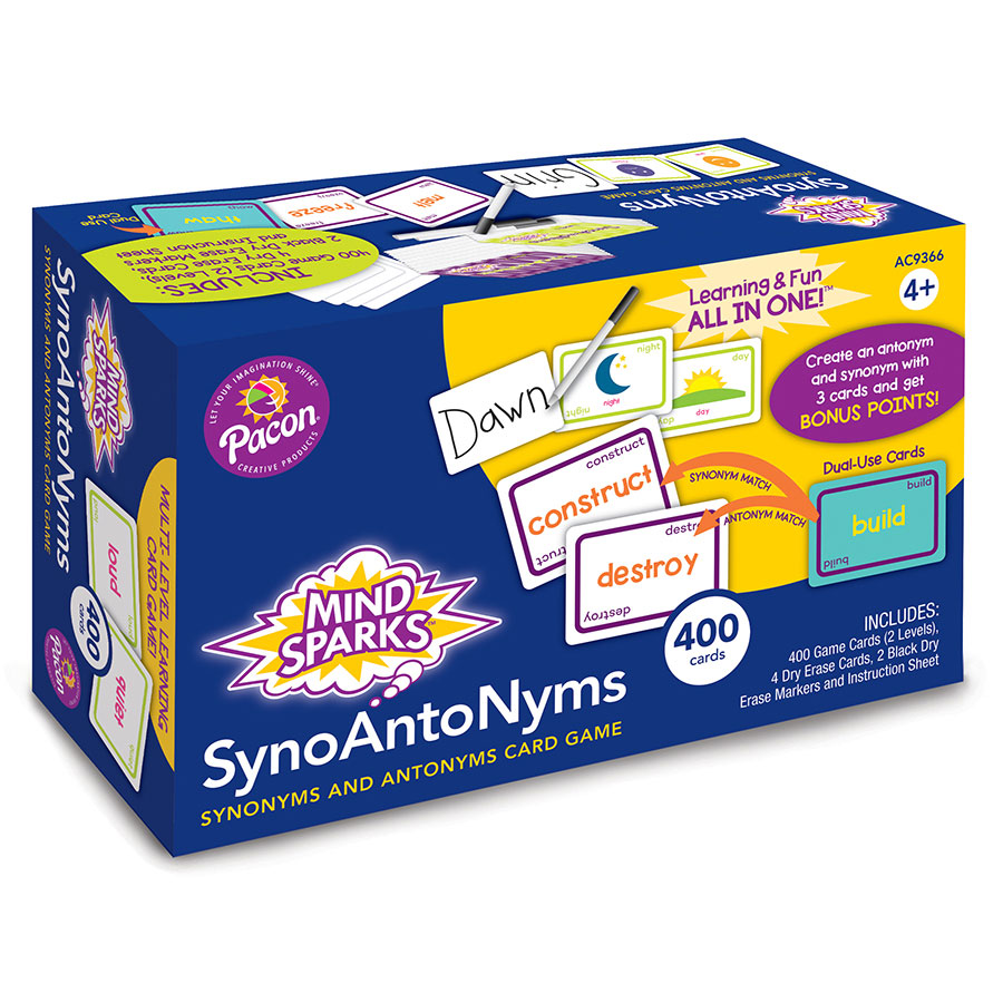Mind Sparks® SynoAntoNyms™ Word Game